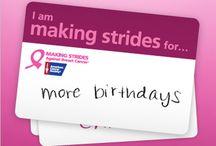 Making Strides against Breast Cancer :)