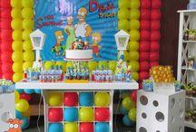 Decoración de Fiesta de Los Simpsons