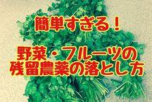 食  野菜を洗う
