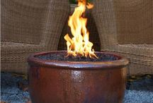 Chimeneas, firepits / Warming the deck.  Ideas for this summer / by Janis Sorenson