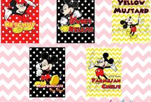 Mickey Mouse Theme Party / by Sweet Party Nyomi