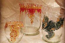 Henna creations / different mediums for henna designs