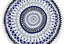 okrągłe ręczniki plażowe/chusta pareo