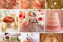Coral & Gold - Wedding colors 2014 / by {AO3} DESIGNS