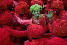 HOLI FESTIVAL / Holi Festival - The colors of India