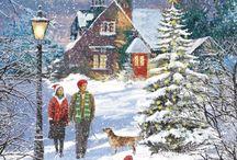 Mooie kerstafbeeldingen