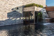 Piscinas e Spas / Projetos de piscinas e spas executados por profissionais parceiros com produtos da Bel Lar Acabamentos.