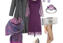 Closet by colors - purple / It's purple. It's fabulous. What else do you need to know? Go get you some!