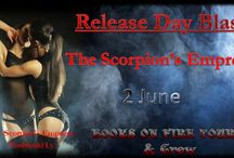 Become The Scorpion's Empress! / Books On Fire Tours and Crew are proud to host the Release Day of this awesome book!