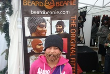 Real people, real beard beanies / Fans in our beard beanies.