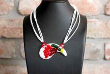 Folksy style jewelry / Magyaros ékszerek