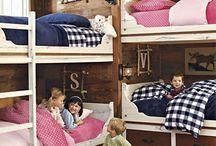 boys & girls combined bedroom