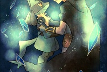 Aaron and Lucario