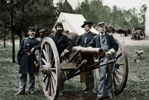 Civil War 1861 - 1865 / The American Civil War, widely known in the United States as simply the Civil War as well as other sectional names, was a civil war fought from 1861 to 1865 to determine the survival of the Union or independence for the Confederacy. Pictures, Old Photos, Reenactment / by Godwinsson