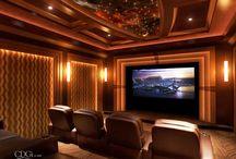 Home Cinema / Decoración Salas de cine en el hogar