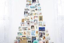 Des photos pour Noël / Chez Idée Cadeau Photos on vous propose de créer des cadeaux ou de la déco avec vos photos en personnalisant nos produits. Dans ce tableau on a eu envie de vous présenter les meilleures idées DIY pour une déco photos à faire soi-même