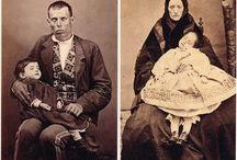 Vintage photos of people dead or alive