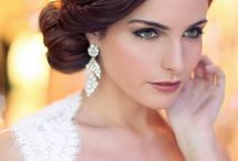 Wedding hair and makeup ideas / by Tiffany Holmes