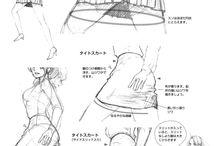 Clothing Tutorials & concepts