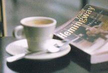 books, coffee...