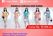 Special Promo Diskon / special offer Crown Batik Terupdate