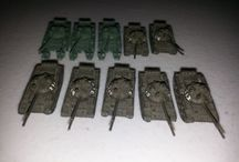 GHQ & CinC Modern and WWII 6mm items / Micro Armour 6mm vehicles from armies from around the world.