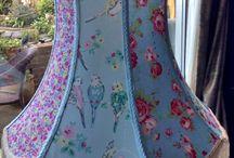 Chic lampshades / Handmade beautiful lampshades.