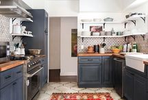 Kitchen blue ideas