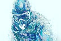 Rainbow Six Seige Art and memes
