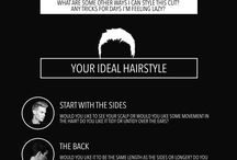 Picking hairstyle