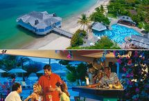 BEACHES and RESORTS / Escapades, tours , travels , vacations honeymoons