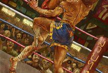 Muay Thaï/ martial art