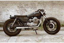 Moto Guzzi V35 Custom inspiration