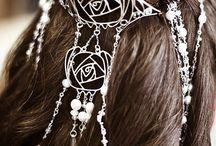 pretty hair things / by Pamela ORourke