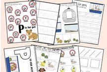 Homeschool - Printables / by Kylie Kosiorek