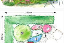 Landscaping plant plan