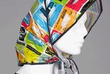 Plastic headscarfs
