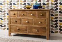 Oak Storage Unit Furniture Cupboard Sideboard Home Solution Wooden Natural Solid