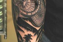 Compass Tattoo
