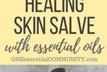 healing skin salve oil