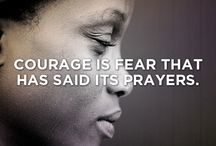 Courage / Gathering inspiration for new courage project (coming soon!)