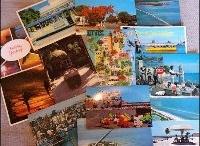 Vintage Postcards, Vintage Paper