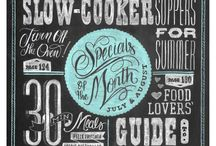 chalkboard typography / by Abby Coffey