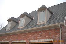 Hardie Board & Batten with Aluminum Soffit & Fascia  Ladue, MO. (63124) / This was a new construction project that had Hardie Board & Batten Siding installed in Ladue, Missouri.