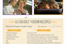 Recipes by Le Creuset / by The Hundred-Foot Journey