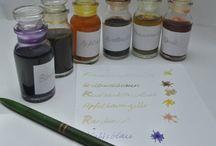 Füller, Tinte und Co