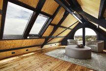 Мансарда / Оформление и дизайн мансарды с ломаной крышей