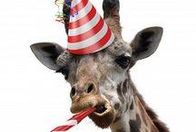 Giraf hilsen