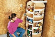Wood projects / Storage ideas