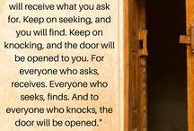 Faith / Bible verses on faith. Find more at biblegateway.com.